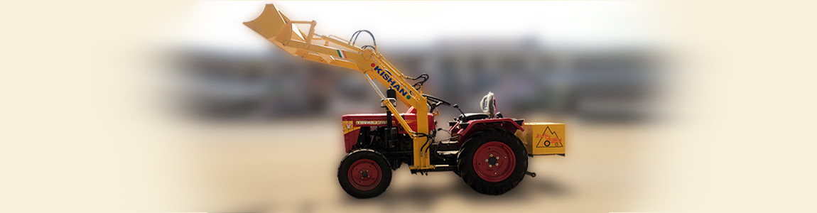 We offer complete Hydraulic Loader on Yuvraj Tractor | Kishan Equipment