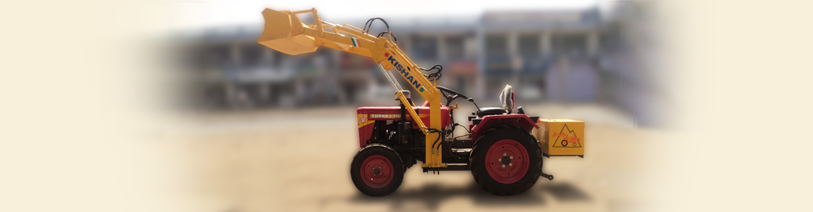 Loader Attachment for Yuvraj Tractor | Kishan Equipment
