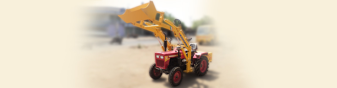 Front End Loader for Yuvraj Tractor | Kishan Equipment