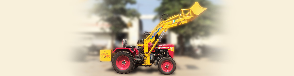 Farmer Tractor Mounted Front End Loader | Kishan Equipment