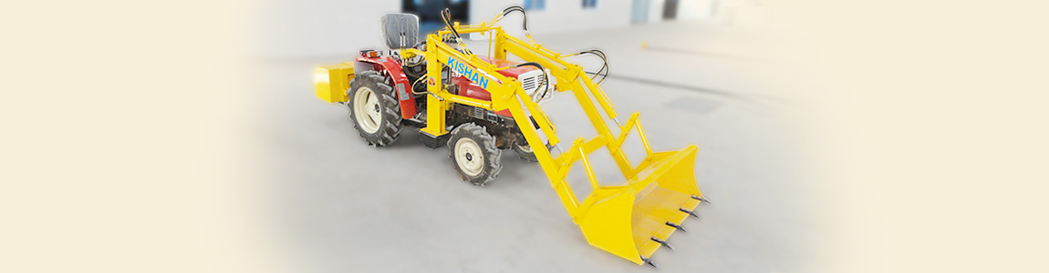Loader Attachment for Mitsubishi Tractor | Kishan Equipment