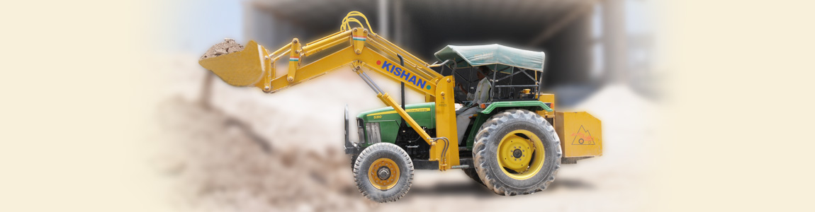 Tractor Loader for Ceramic Industry