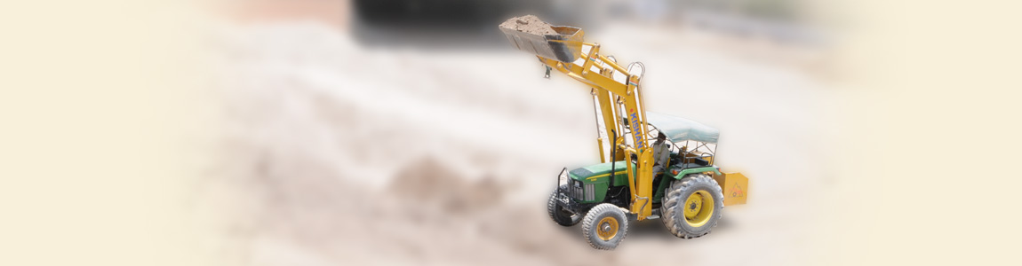 Easy Raw Material Handling with Hydraulic Loaders