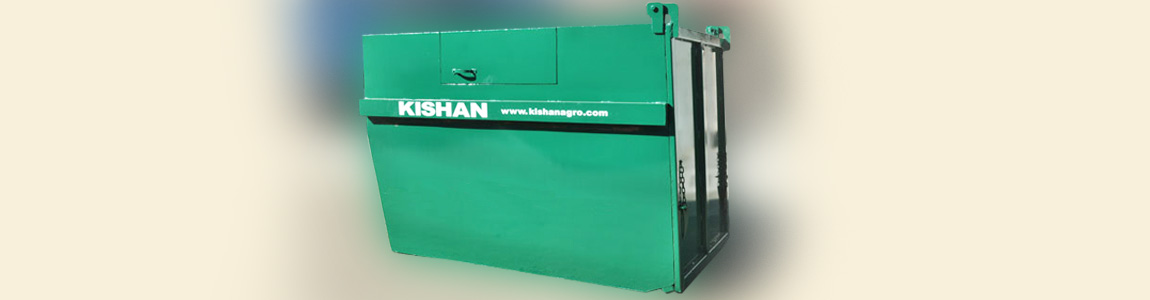 Garbage Container from Kishan Equipments, India