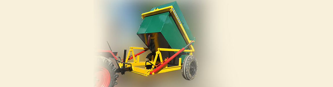 Tractor Drawn Garbage Carrier from Kishan Equipments