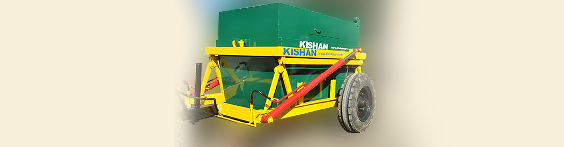 Garbage Container with Hydraulic Carrier