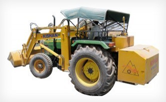 Hydraulic Tractor Loaders for Crushing Plant