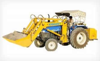 Hydraulic Tractor Loaders for Cement Industry