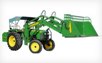 Hydraulic Tractor Loaders for Cotton Industry