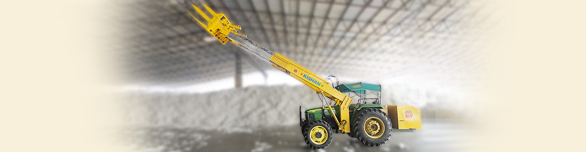 Telescopic Loader for Cotton Industry | Kishan Equipments